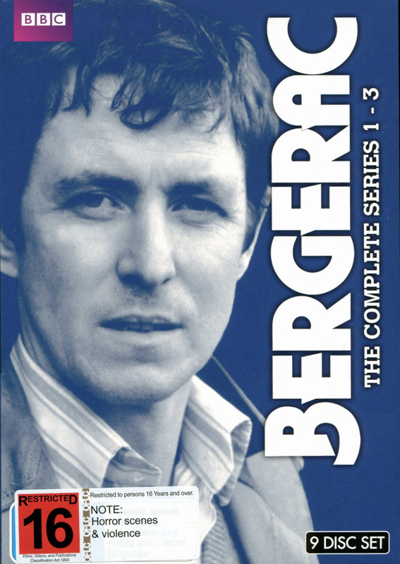 Bergerac - The Complete Series 1-3 Box Set on DVD
