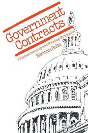 Government Contracts by Herman R Holtz