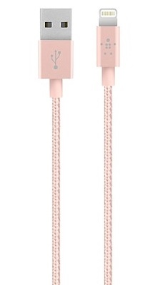 Belkin-Mixit Up: Lightning Cable 1.2m - Rose Gold