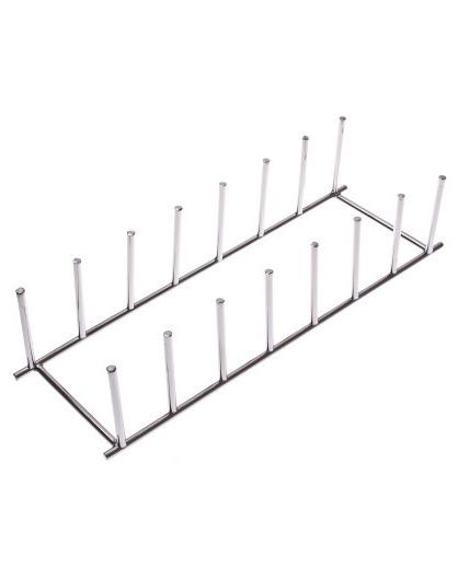 Plate Rack - Chrome