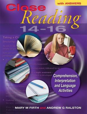 Close Reading 14-16 with Answers by Mary M. Firth image