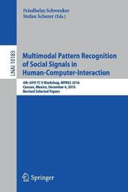 Multimodal Pattern Recognition of Social Signals in Human-Computer-Interaction image