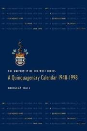 The University of the West Indies by Douglas Hall