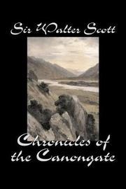 Chronicles of the Canongate by Walter Scott image