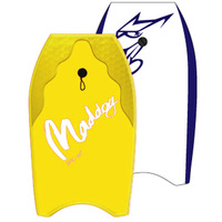"Maddog: Epic - 41"" Bodyboard (Yellow)"