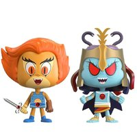 Lion-O + Mumm-Ra - Vynl. Figure 2-Pack