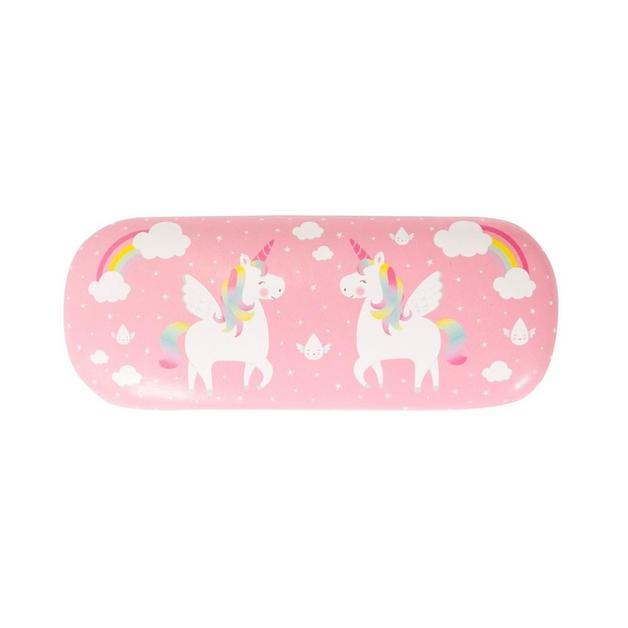 Rainbow Unicorn Seeing Is Believing Glasses Case