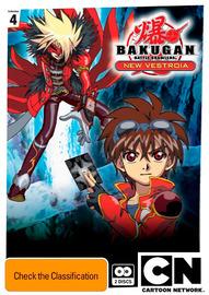 Bakugan: New Vestroia Collection 4 (2 Disc Set) on DVD