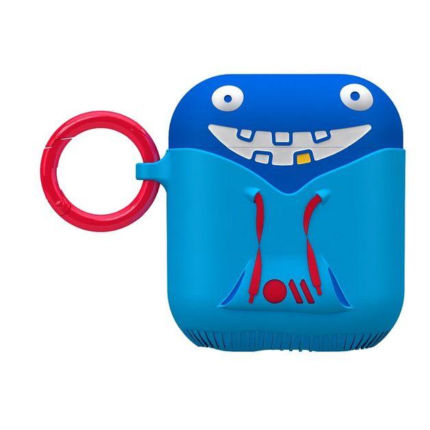 Casemate: CreaturePods AirPods Case - Tricky Case (Blue)
