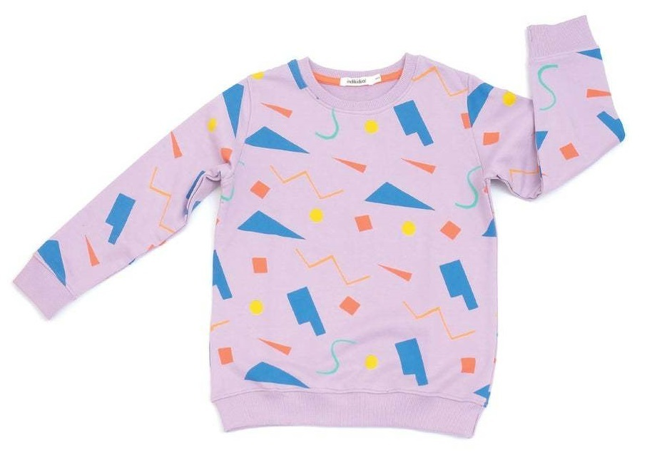 Miami Shapes Print Sweat (6-7 years) image