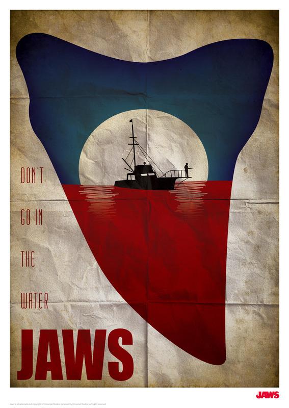 Jaws: Premium Art Print - Movie Poster #2
