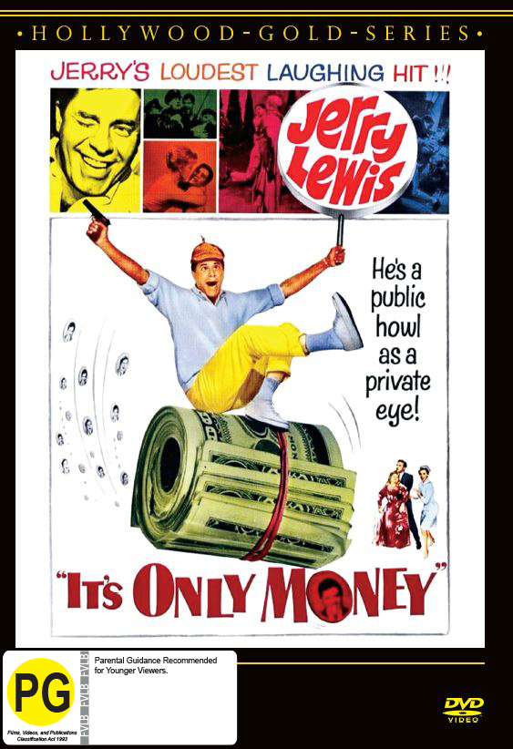 It's Only Money on DVD image