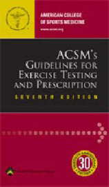 ACSM's Guidelines for Exercise Testing and Prescription by Acsm image