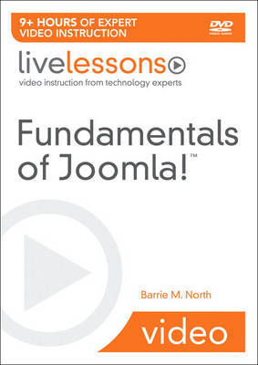 Fundamentals of Joomla! (Video Training) by Barrie North image