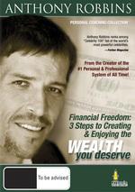 Anthony Robbins - Financial Freedom on DVD