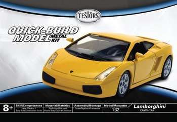 Testors Lamborghini Gallardo 1/32 Model Kit