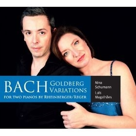 Bach: Goldberg Variations by Nina Schumann