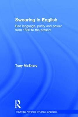 Swearing in English by Tony McEnery image