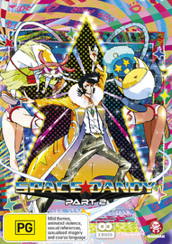 Space Dandy Part 2 (Eps 14-26) on DVD