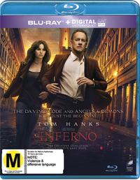 Inferno on Blu-ray