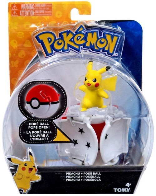 Pokémon: Pikachu & Poke Ball - Throw 'n' Pop Set image
