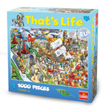 That's Life 1,000 Piece Jigsaw (Theme Park)
