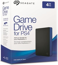 4TB Seagate Game Drive for PlayStation 4 for