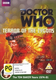 Doctor Who: Terror of the Zygons on DVD
