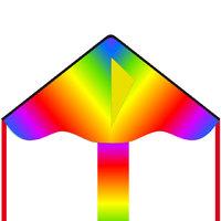 """HQ Kite: Radiant Rainbow - 33"""" Eco Kite"""