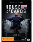 House Of Cards: Season 6 (3 Disc Set) on DVD