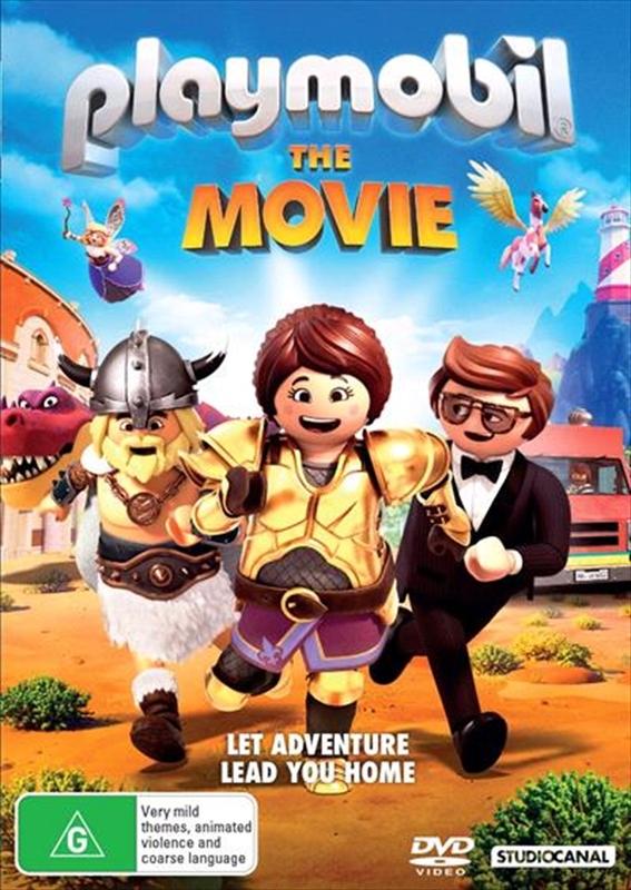 Playmobil: The Movie on DVD