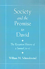 Society and the Promise to David by William M Schniedewind