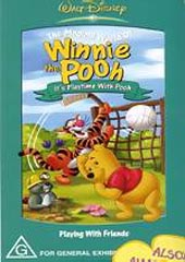 Winnie The Pooh - Volume 3 : It's Playtime With Pooh on DVD