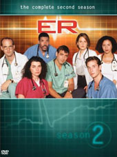 E.R. - The Complete 2nd Season (4 Disc Set) on DVD