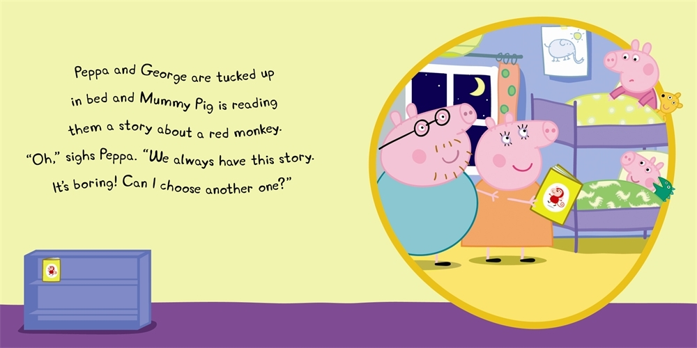 Peppa Goes to the Library: My First Storybook image
