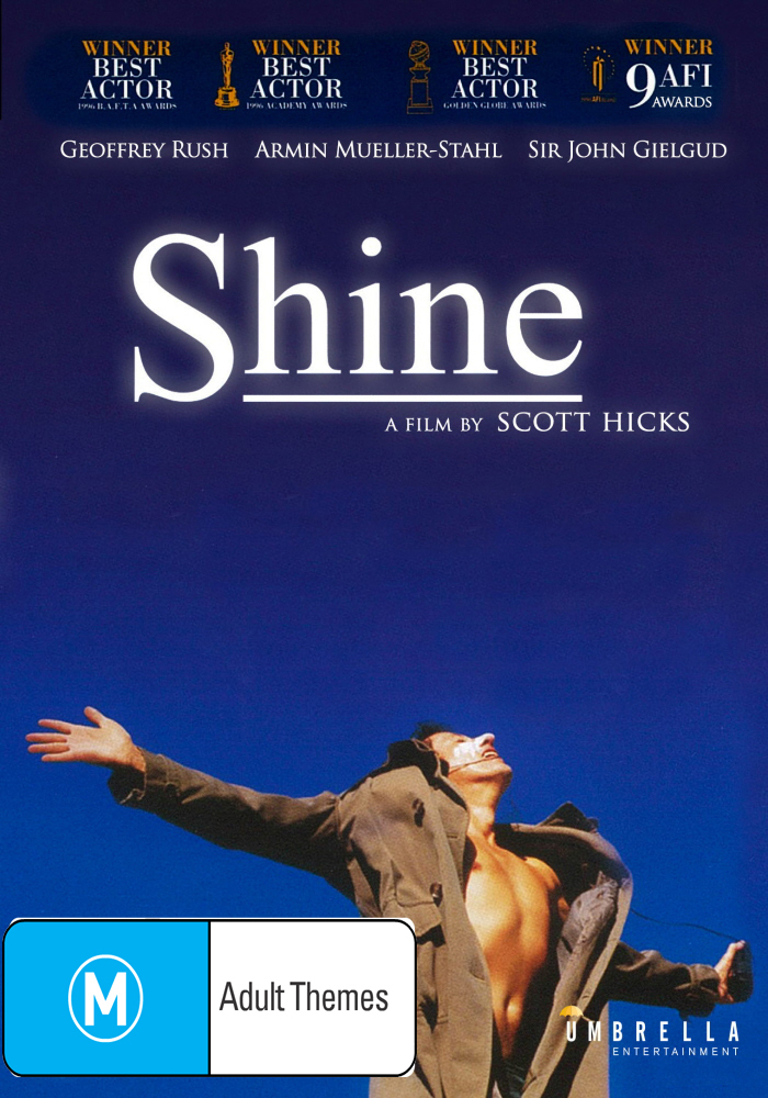 Shine on DVD image