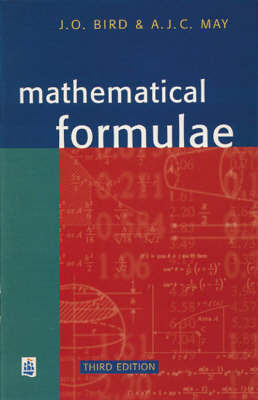 Mathematical Formulae by John O. Bird