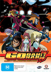 Godannar - Vol. 4: Two's a Combat Team, Three's a Crowd on DVD