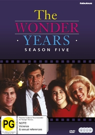 The Wonder Years (Season 5) on DVD