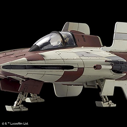 Star Wars 1/72 A-Wing Starfighter - Model Kit image