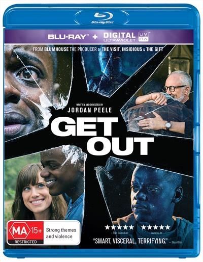 Get Out on Blu-ray image