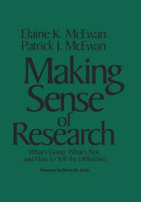 Making Sense of Research by Elaine K. McEwan-Adkins