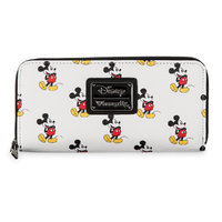 Loungefly: Disney Mickey Mouse Print - Zip Around Wallet