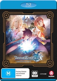 Tales Of Zestiria: The X - Complete Season 1 on Blu-ray