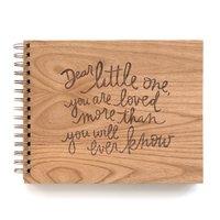 Cardtorial: Dear Little One Baby Memory Book