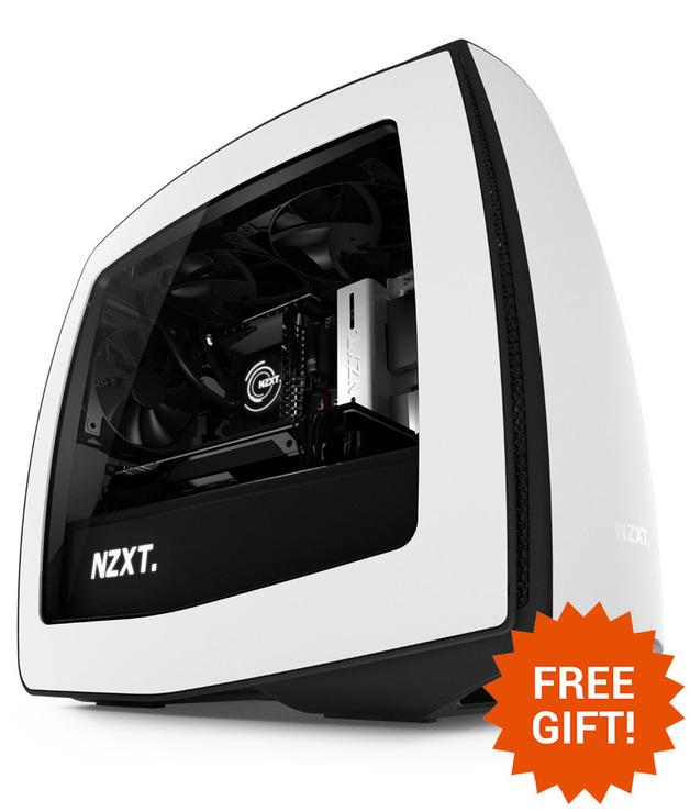 NZXT Manta Mini-ITX Case - White/Black