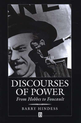 Discourses of Power by Barry Hindess image