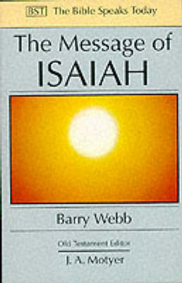 The Message of Isaiah by Barry Webb image