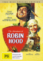 Adventures Of Robin Hood, The (1938) - Special Edition (2 Disc Set) on DVD