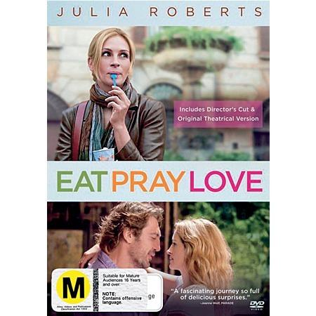 Eat Pray Love on DVD